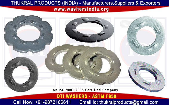 dti washers astm f959 washer manufacturers exporters suppliers distributors in India Punjab Ludhiana