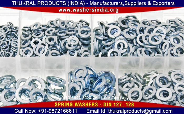 spring lock washers manufacturers exporters suppliers distributors in India Punjab Ludhiana